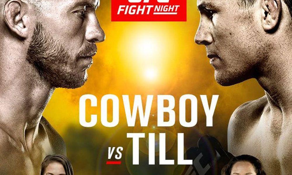 UFC fight night 118 videa zápasů