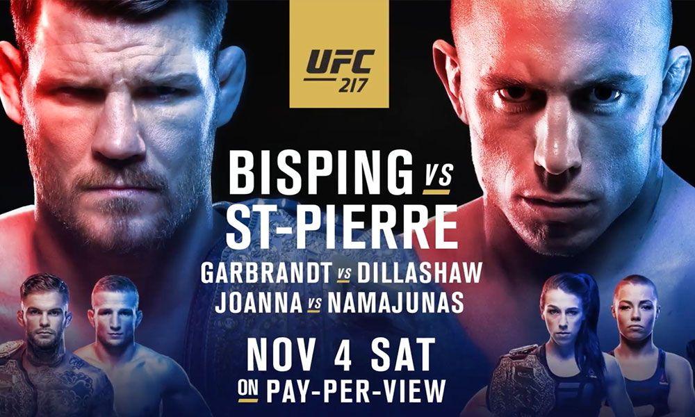 UFC 217 videa zápasů