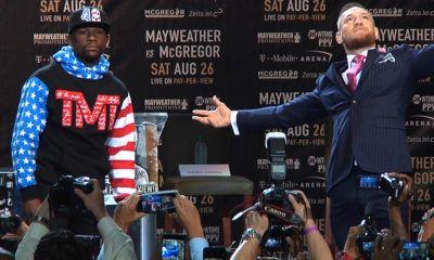 Floyd Mayweather vs. Conor McGregor - MMA
