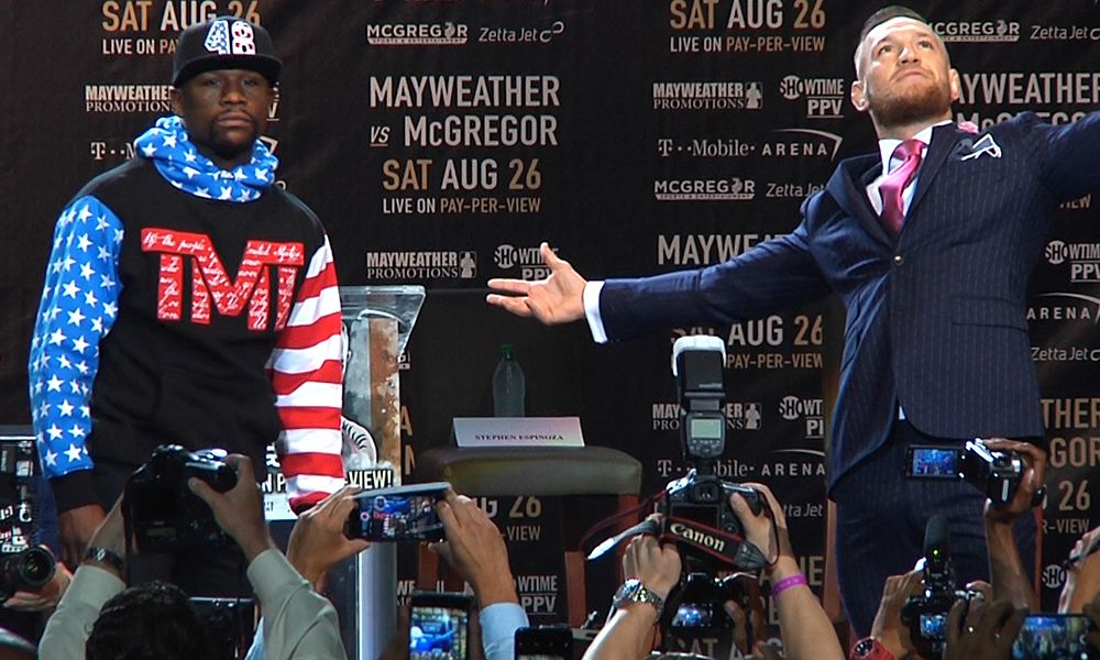 Floyd Mayweather vs. Conor McGregor - MMA