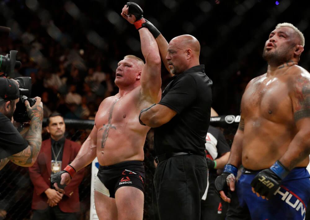 Brock Lesnar vs. Mark Hunt na UFC 200