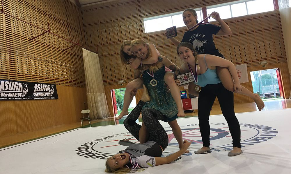 Lucie Vacová Grappling
