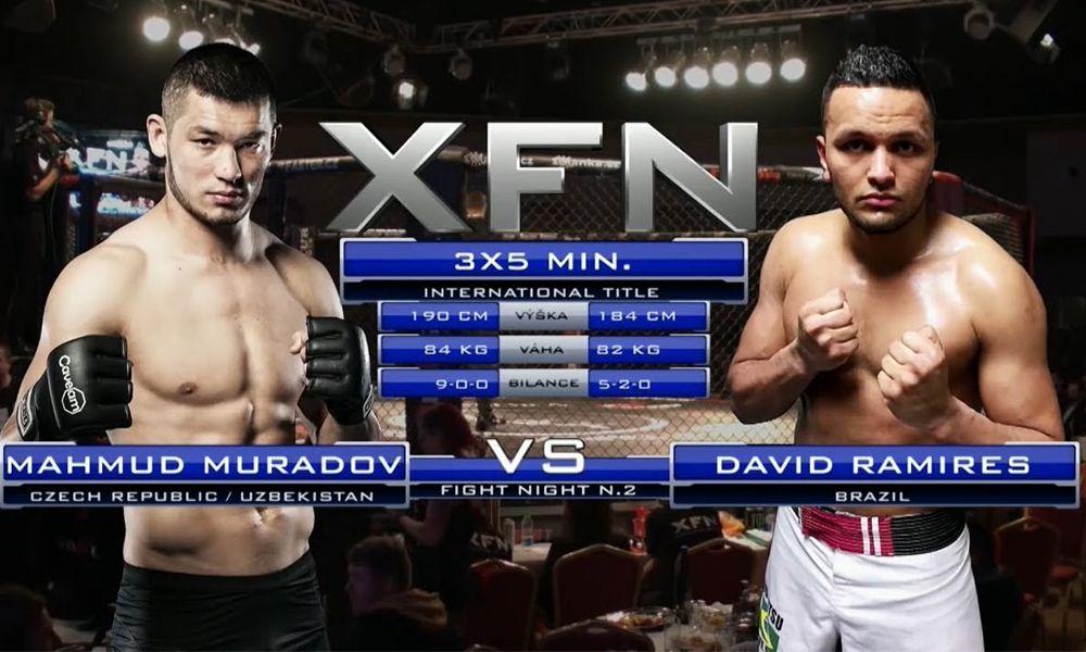 """Makhmud """"Mach"""" Muradov vs. David Ramirez - XFN O2 Aréna"""