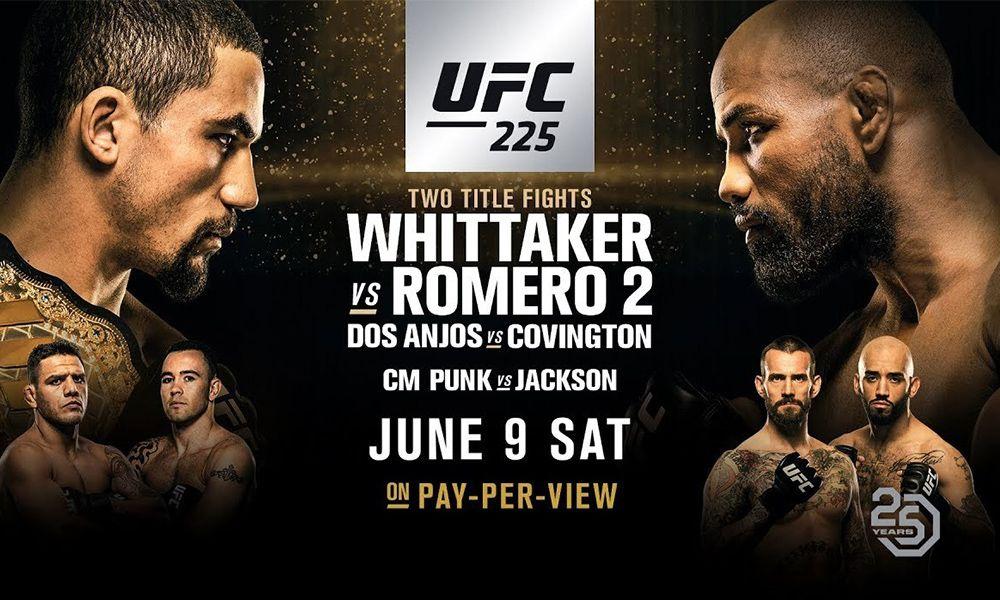 UFC 225 videa zápasů