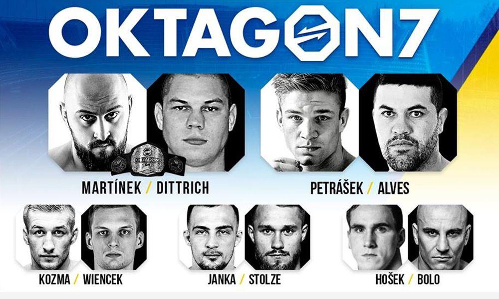 Oktagon 7 - fightcard