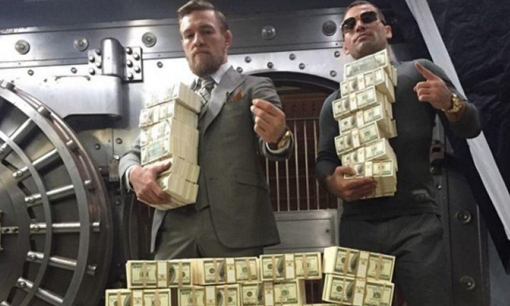 10 nejlépe placených zápasníků UFC 2018