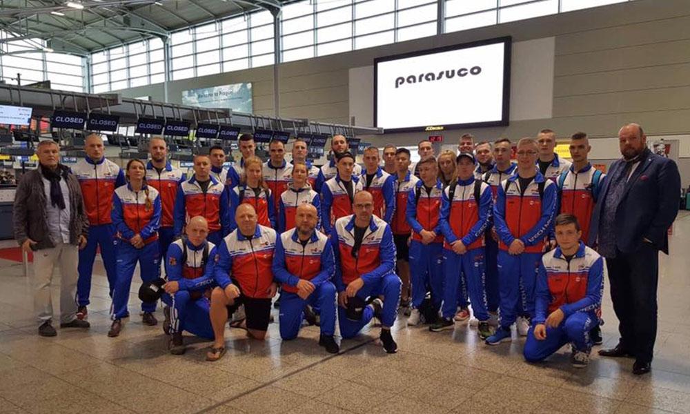 Česká MMA reprezentace na Mistrovství světa v Bahrainu