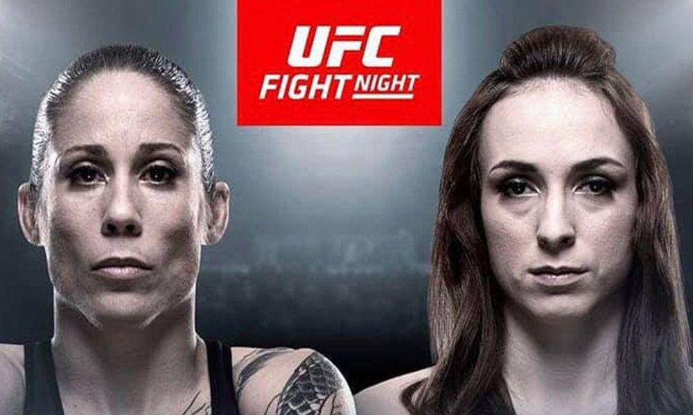 Lucie Pudilová vs. Liz Carmouche na UFC v Praze