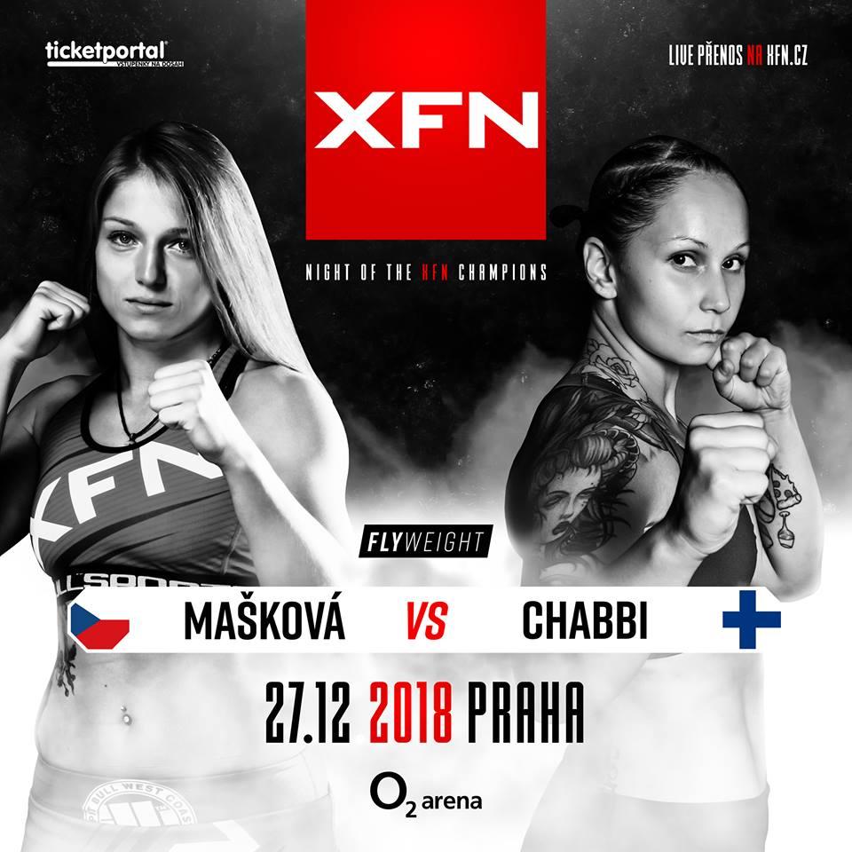 Sandra Mašková vs. Chamia Chabbi - XFN 15