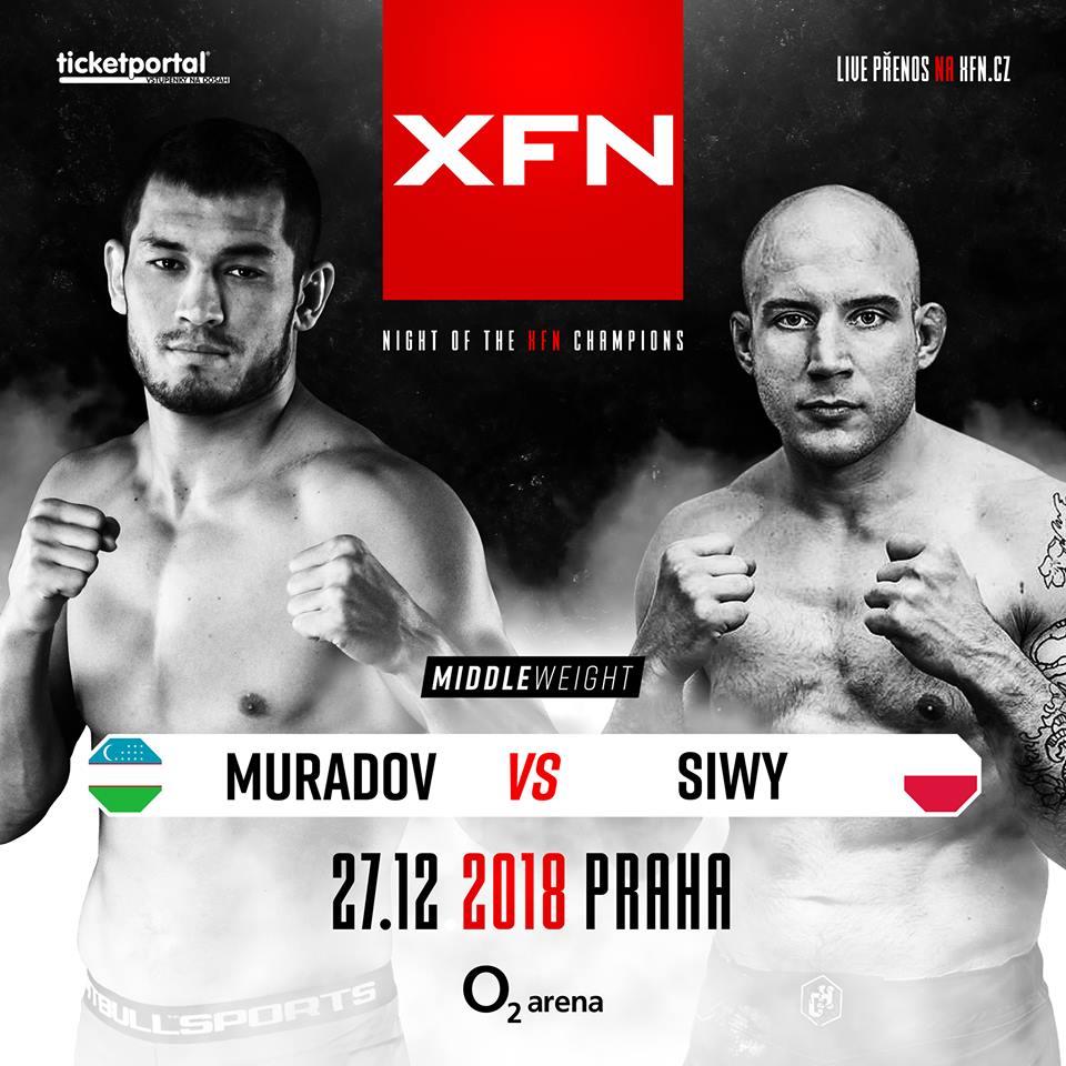 Makhmud Muradov vs. Grzegorz Siwy - XFN 15 - Marpo vs. Rytmus