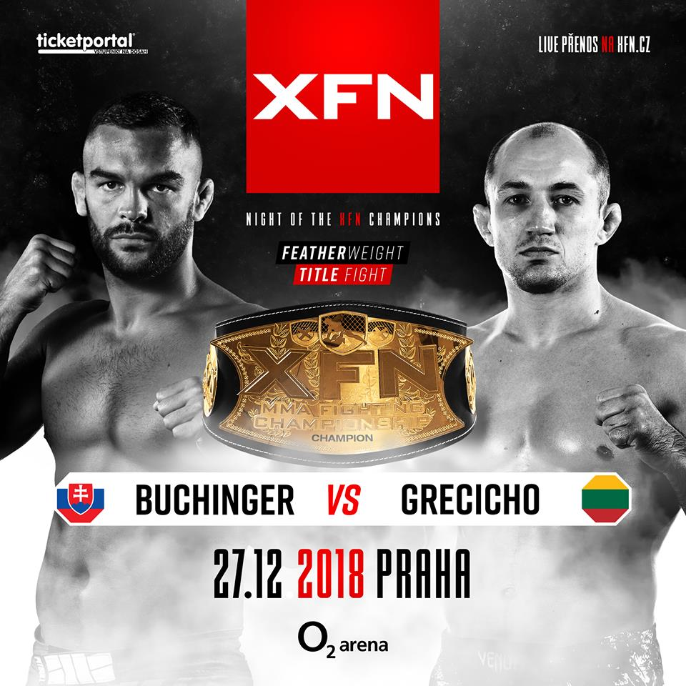 Ivan Buchinger vs. Sergej Grecicho - XFN 15