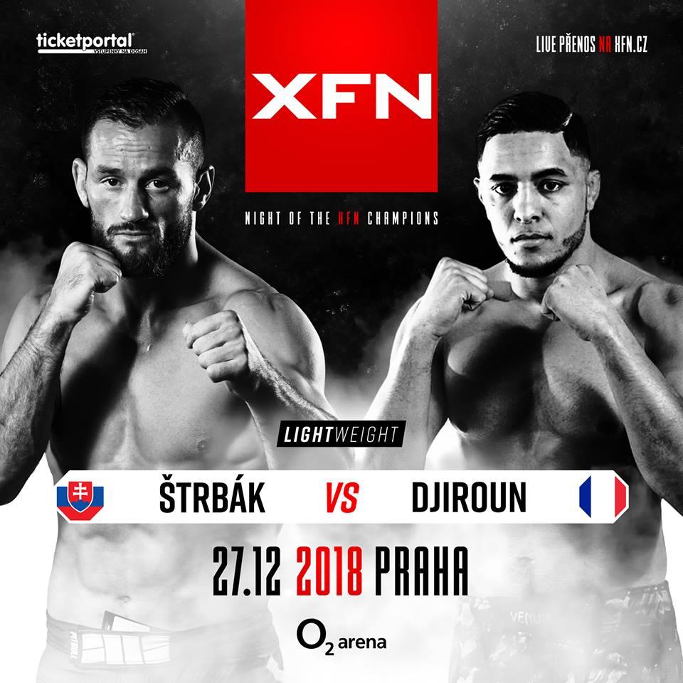 Miroslav Štrbák vs Ylies Djiroun - XFN 15 - Marpo vs. Rytmus