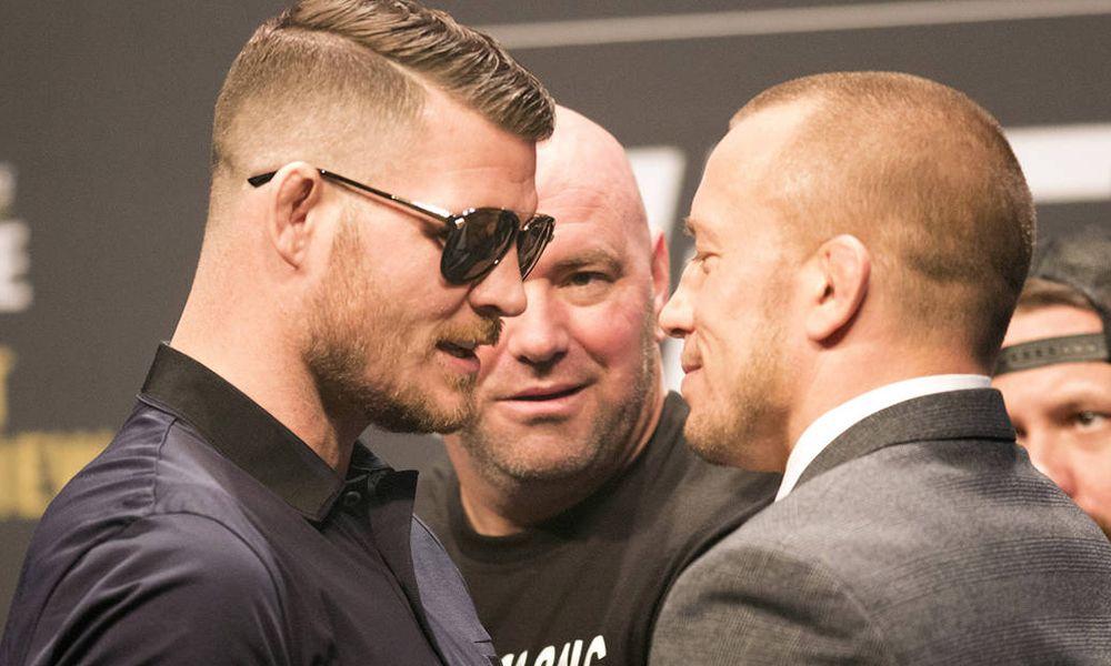 Michael Bisping a GSP - jedni z nejvíce vydělávajících UFC zápasníků všech dob