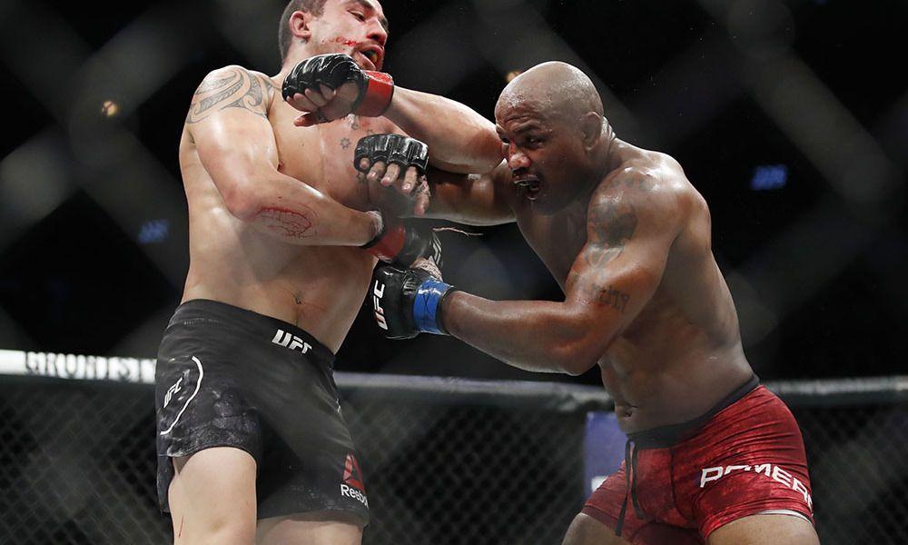 Rober Whittaker vs. Yoel Romero - UFC žebříček 2018