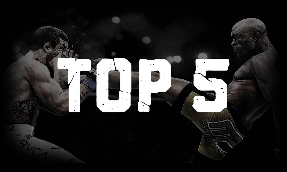 TOP 5 nejlepších MMA zápasů roku 2018