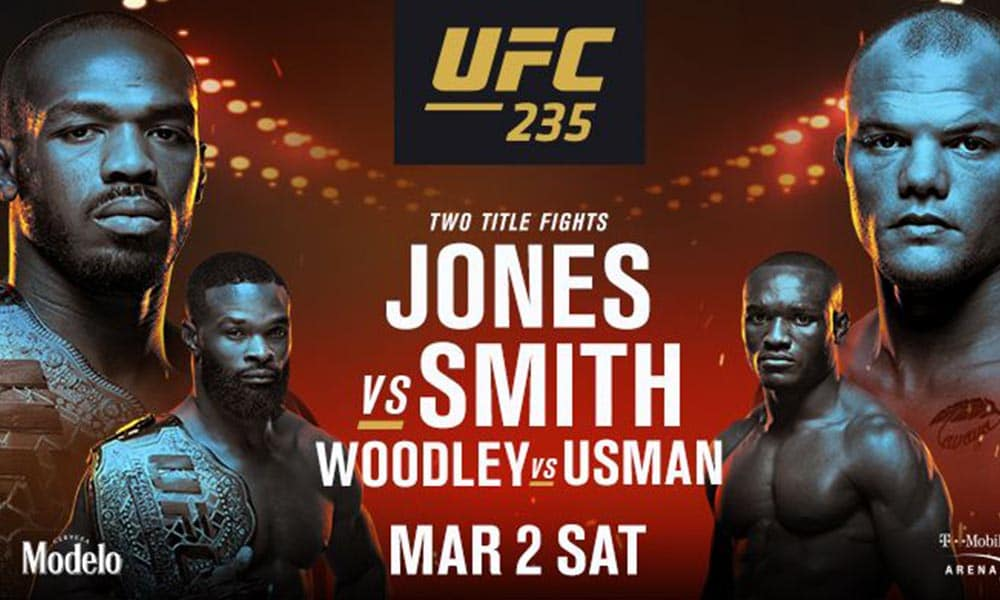 UFC 235 - fightcard | Jon Jones vs. Anthony Smith