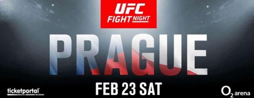 UFC Praha - kompletní fightcard, program