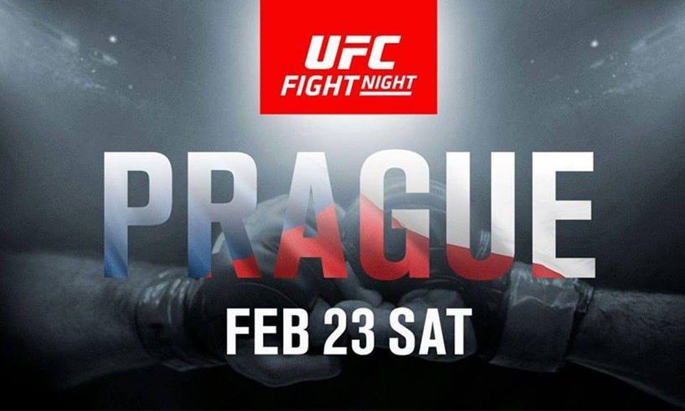 UFC Praha - VÝSLEDKY A VIDEA ZÁPASŮ - UFC Fight Night Prague