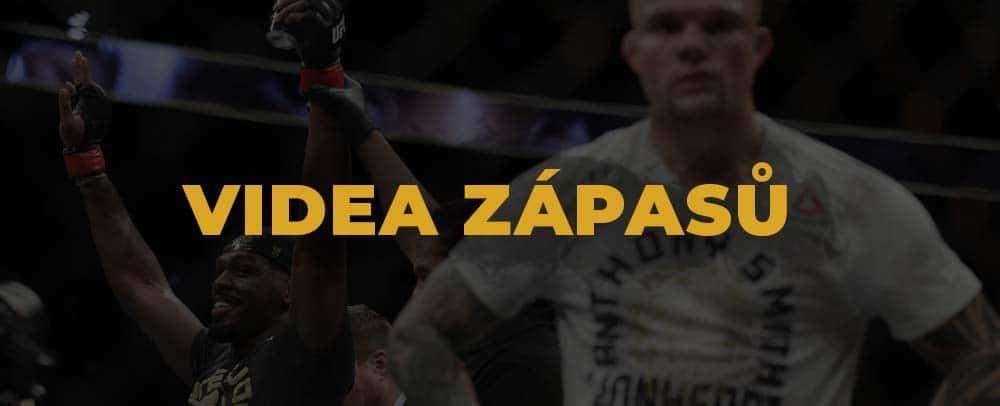 UFC 235 - Videa zápasů