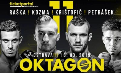 OKTAGON 11 - fightcard - karta- program