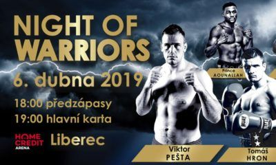 Night Of Warriors Liberec 2019 - fightcard