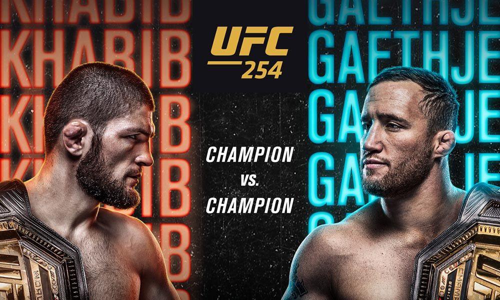 Možnosti sledování UFC 254: Khabib vs. Gaethje (ŽIVĚ)