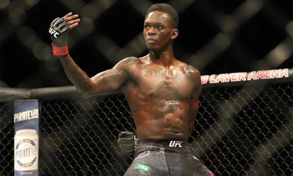 Israel Adesanya - šampion střední váhy - UFC žebříček 2020