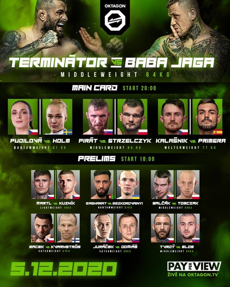 OKTAGON 19 - PROGRAM - fightcard