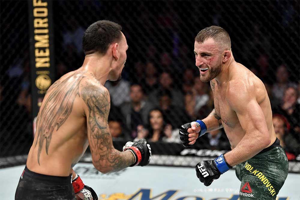 Alexander Volkanovski vs. Max Holloway v bitvě o titul šampiona pérové váhy