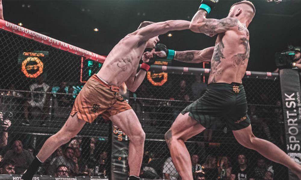 oktagon underground: Last Man Standing - karta (fightcard) program