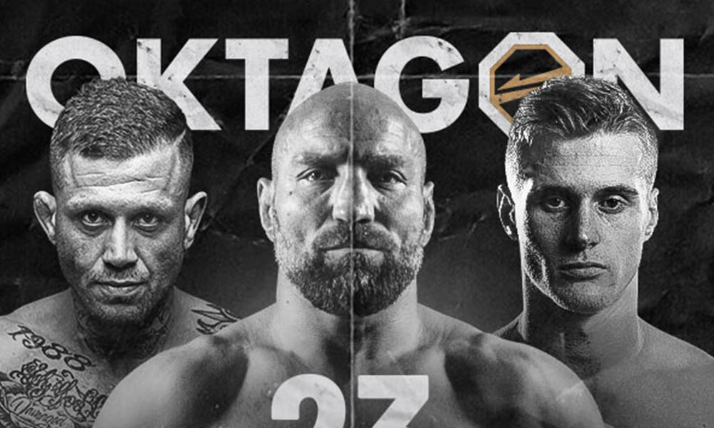 Oktagon 23 - fightcard, karta, program